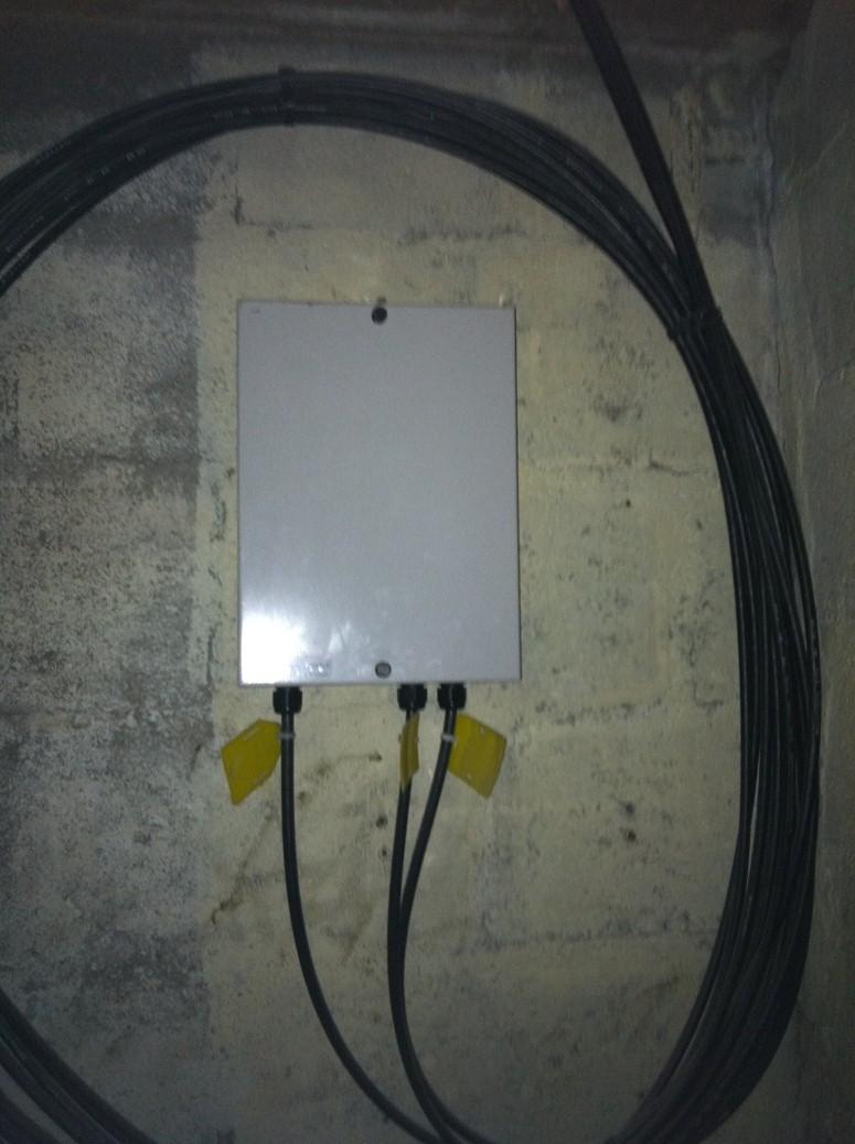 Boitier de fibre optique immeuble du 35 avenue laumiere - Copropriete fibre optique ...